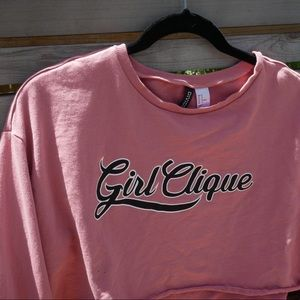 Girl clique cropped long sleeve from H&M